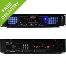 Skytec SPL700 Semi Professional Audio MP3 USB DJ Disco PA Power Amplifier 700W