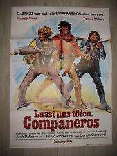 LASST UNS TÖTEN -Kinoplakat A1 (A)- FRANCO NERO TOMAS MILIAN - ITALO - Western