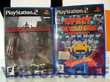 Space Invaders Soft Set, Invasion Day + Anniversary, Playstation 2, PS2, PAL, IT