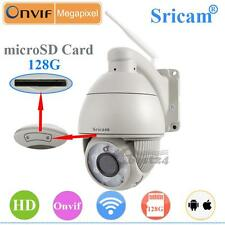 Wireless WIFI 5 Optical Zoom HD 1MP PTZ IP Dome CAMERA H.264 IR-cut Security Cam