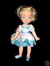 "13"" Disney 2006~Blue Princess Cinderella Doll Playmates"