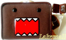 New Japan Domo Kun Purse Card Coin Bag Kiss Clasp Wallet