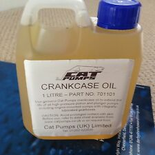 CAT PUMP PRESSURE WASHER JET WASH 1LTR CRANKCASE OIL 701101