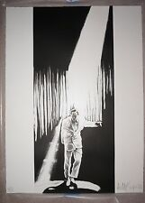 The Entertainer / Man In The Spotlight   By Robert Longo Very Rare Supreme Kaws