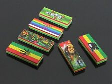 BOB MARLEY Rolling Tip Filters Papers 6 Pack Rasta Cigarette Smoking Smoke NEW