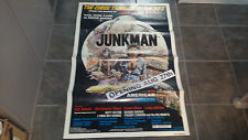 VERY RARE ORIGINAL THE JUNKMAN MOVIE POSTER BY H.B. HALICKI GONE IN 60 SECONDS