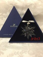 Swarovski 2017 CHRISTMAS ORNAMENT LARGE 5257589 CRYSTAL ANNUAL EDITION