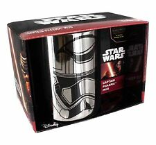 Official Star Wars Episode VII Chrome Plated Captain Phasma Mug Gift New