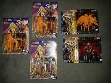 1997 Skybolt Action Figures Lot of 5 Sinthia & Hellina With Hell Glow Variants