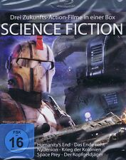 BLU-RAY NEU/OVP - Science Fiction - 3 Filme - Humanitys End - Das Ende naht u.a.