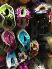 Job Lot fancy dress mask 50 Mixed Venetian Masks Masquerade Clearance Funny