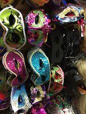 LOTTO ODL Costume Maschera 50 Misto maschere Veneziana Masquerade Gioco Divertente