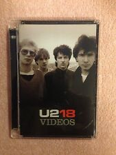 U2 18 Videos Dvd Super Jewel Box packaging