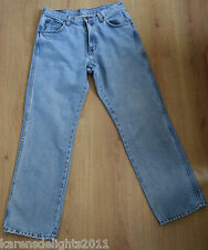 Vintage Wrangler jeans high waist 32 x 30 will suit UK 12  fast postage