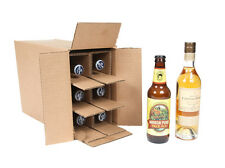 6 Bottle  375 ml wine, beer, Shipping Box SpiritedShipper.com boxes