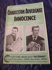 Partition Charleston Auvergnat Segurel Erhard Innocence Music Sheet