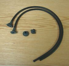 1956 57 - 60 CHEVY WINDSHIELD WINDOW DRAIN GUTTER TUBES SEALS and GROMMETS *USA*