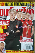 """FOUR FOUR TWO"" Magazine - Jan 2013 Issue - Arsenal's Master Plan - Top 100"