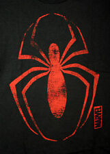 Marvel Comics The Amazing Spiderman Red Spider Black T-Shirt New LG Mad Engine