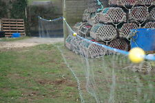 "FISHING NET/GILL NET/FLAT FISH  4.5"" 50ft / no 2 leadline /4 floats ."