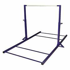 Gymnastics Purple Mini High Bar with Leg Extensions