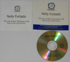 Nelly Furtado  I'm Like a Bird  acoustic  U.S. promo cd  hard-to-find