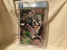 Batman THE KILLING JOKE 1st Printing WHITE Pages PGX 9.4 Like CGC