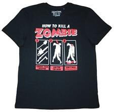 Zombie ( Size XL ) How To Kill A Zombie - Men's t shirt