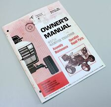 SEARS OWNERS MANUAL GT18 TWIN LAWN GARDEN TRACTOR OPERATION PARTS GT 18 DRIVE