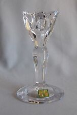"6"" Flora Candlestick Waterford Crystal Marquis Giftware Line"