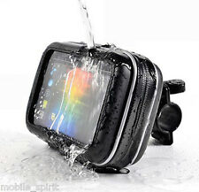 "Waterproof bike/bicycles/motorcycle Case & Mount Handlebar for 5"" GPS Universal"