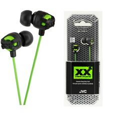 JVC HA-FX101G Xtreme Xplosives In Ear Canal Headphones HAFX101 Green