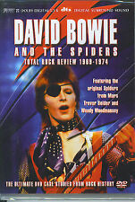 David Bowie and the Spiders : Total Rock Review 1969 - 1974 (DVD)