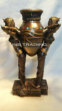 Art Deco Egyptian Women Carrying a Vase Statue Figure Sculpture FAST SHIPPING