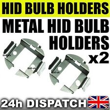 2x H7 METAL BULB HOLDER BRACKET CLIP ADAPTOR for HID Xenon KIT BMW E60 SKODA