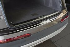 2016 + Audi Q7 (4M) Stainless Steel Rear Bumper Protector