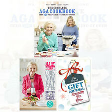 Mary Berry Collection 2 Books Set Complete Aga Cookbook,Cook Now With Journal