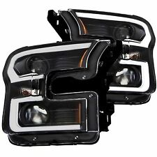 Anzo USA 111347 Projector Headlight Set Fits 15-17 F-150