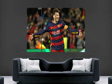 LIONEL MESSI 10 BARCELONA FC FOOTBALL  MAGE WALL POSTER ART PRINT LARGE