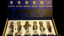 2016-17 WARRIORS BOBBLEHEAD SET- KEVIN DURANT STEPHEN CURRY KLAY THOMPSON SHARKS