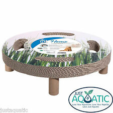 NEW CATIT DESIGN SENSES HOME 3-in-1 SCRATCHER Elevated Bed + Sisal Spinning Toy