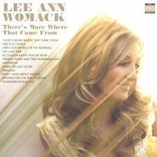 LEE ANN WOMACK-THERE'S MORE WHERE THAT CAME FROM-NEW CD