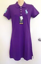 NWT Polo Ralph Lauren Slim Fit Purple Dress Big Pony Logo Size M (L16)