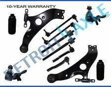 NEW 12pc Front Lower Control Arm & Ball Joint Tie Rods Sway Bar Kit for Sienna