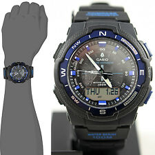 Casio SGW500H-2B Compass Thermometer Watch Moon Sunset Sunrise Data Blue