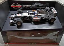 BUILT 1/18 McLAREN MERCEDES MP4-16 F1 D. COULTHARD MINICHAMPS Formula 1