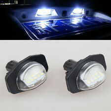 2x White LED Number License Plate Light For Toyota Corolla Axio Fielder 06–2012
