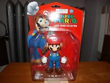 "SUPER MARIO LARGE FIGURE COLLECTION, MARIO 5"" FIGURE, NEW IN PACKAGE, 2013"