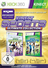 Microsoft XBOX 360 Spiel * Kinect Sports Ultimate Collection Teil 1 + 2 *NEU*NEW