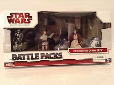 Star Wars Resurgence Of The Jedi Holo Leia Figure Battle Pack Legacy Collection